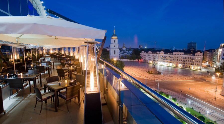 10 best restaurants with a view in Kyiv